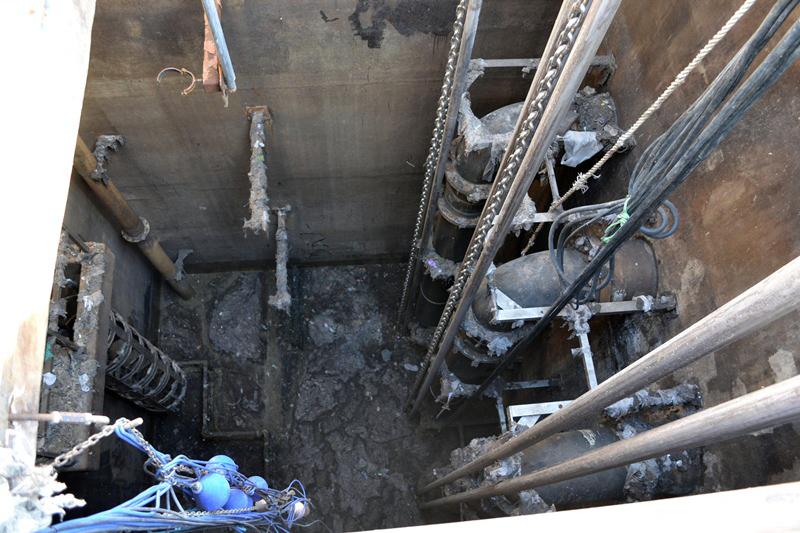 Pumping Sewage Lift Station
